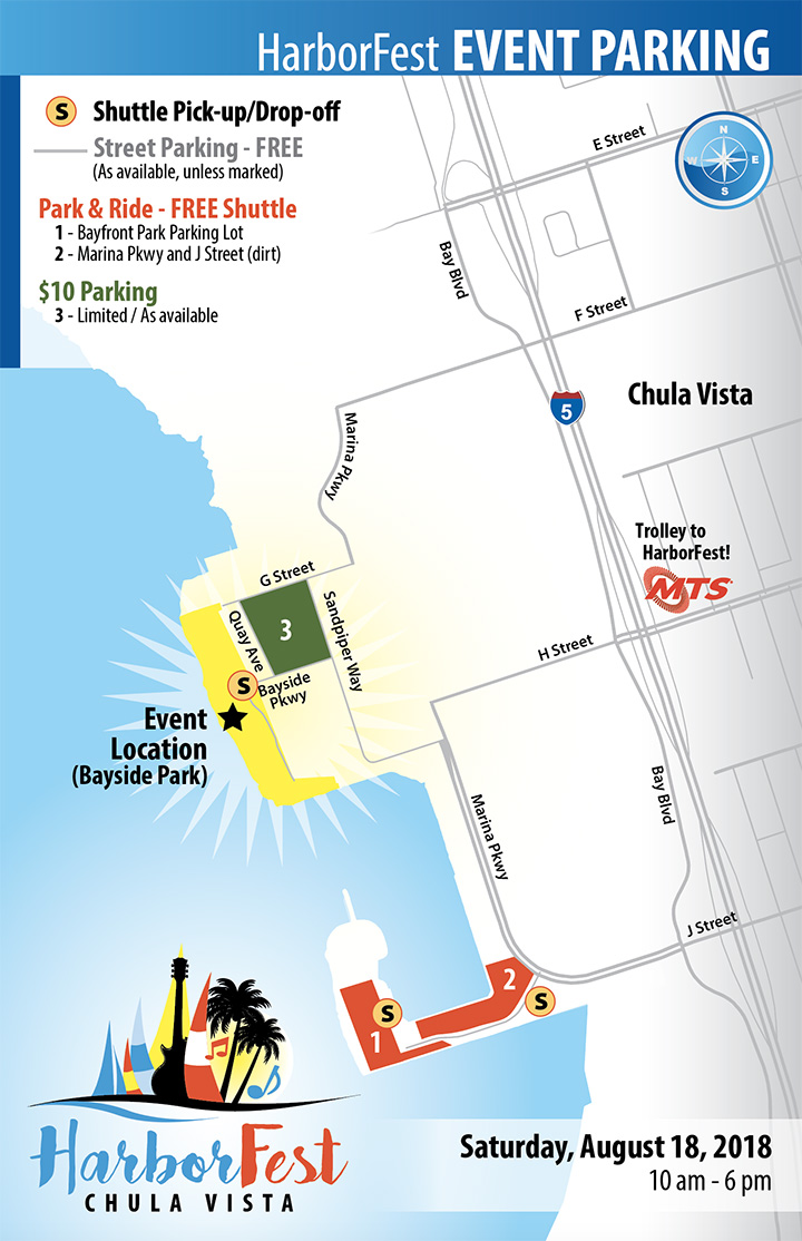 ParkingThumb chula vista harborfest san diego summer events