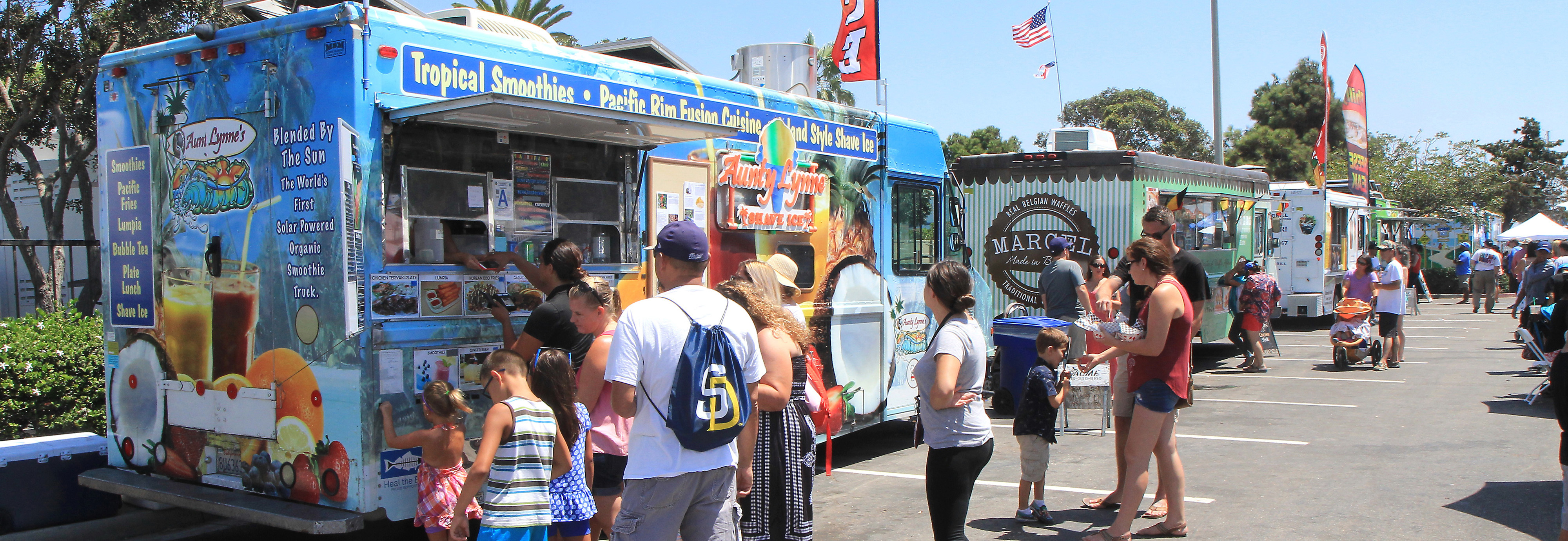 foodtruckalley chula vista harborfest san diego summer events